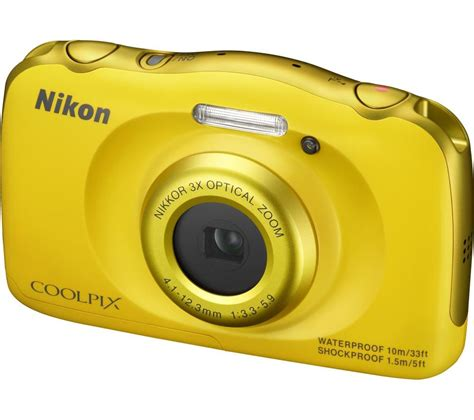 coolpix s33 sle images buy nikon coolpix s33 tough compact yellow free Nikon