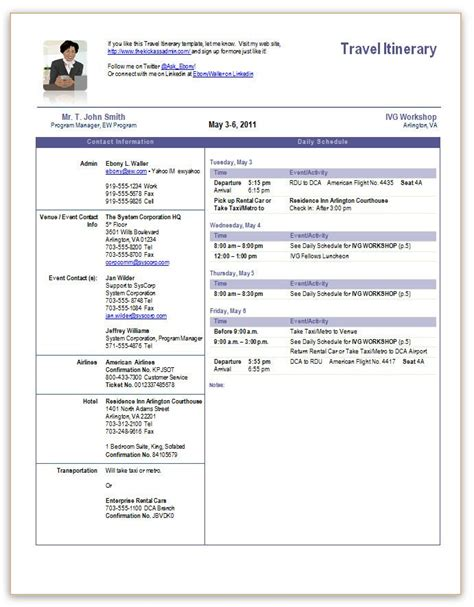trip itinerary word template travel itinerary office templates pinterest travel