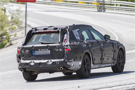 volvo  cross country spied stands high