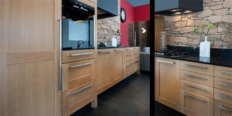 cuisine contemporaine bois cuisine chene massif moderne
