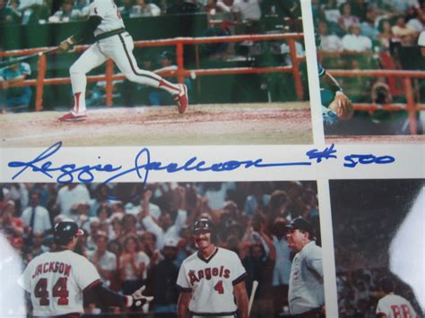Lot Detail - Reggie Jackson Autographed & Inscribed 500th ...