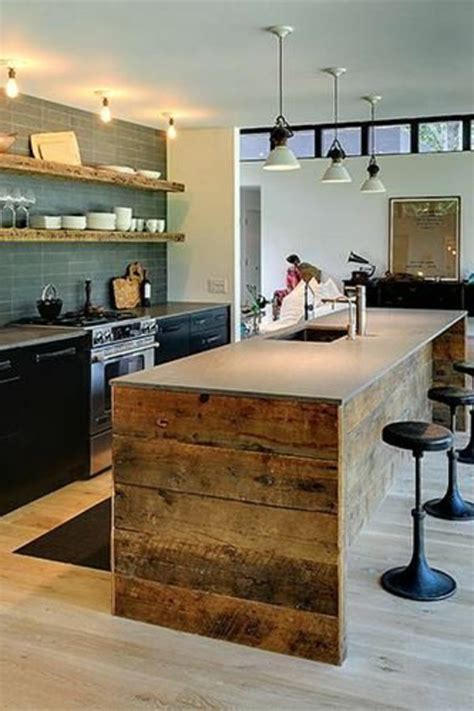 cuisine contemporaine avec ilot central cuisine avec îlot central 43 idées inspirations