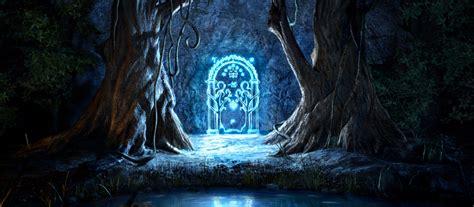 les portes de la moria le seigneur des anneaux un fan construit la porte des mines de la moria dans sa maison