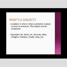 Sentences And Sentence Fragments Youtube