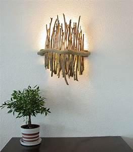 Applique Design Pas Cher : applique murale bois flotte pas cher ~ Edinachiropracticcenter.com Idées de Décoration
