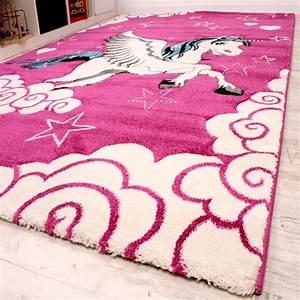 Teppich Für Kinderzimmer : kinderzimmer teppich f r kinder das kleine einhorn pink creme t rkis kinder teppiche ~ Eleganceandgraceweddings.com Haus und Dekorationen