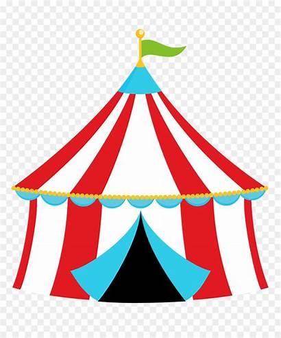 Carnival Tent Circus Clip Transparent Clipart Tenda