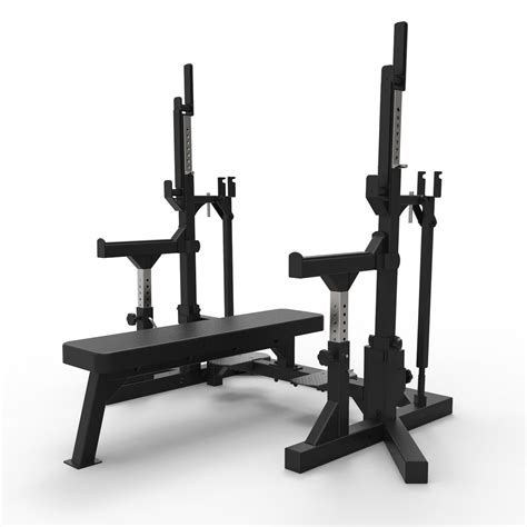 primal strength commercial combo ipf bench matte black primal strength