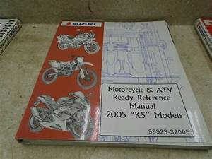 Suzuki Wiring Diagram Used Manual 2005 K5 Models Sr