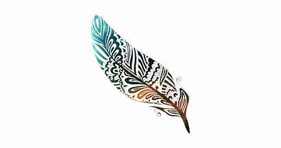 Native Feather Indian American Colorful Stars Designs