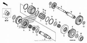 Reverse Gear For 2011 Honda Trx 680