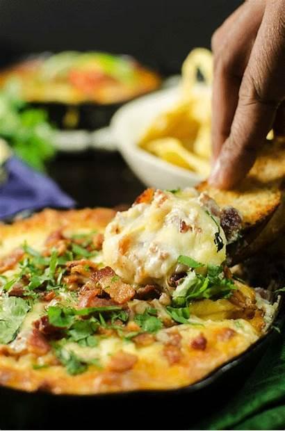 Dip Cheese Dips Bacon Recipes Flavor Gouda
