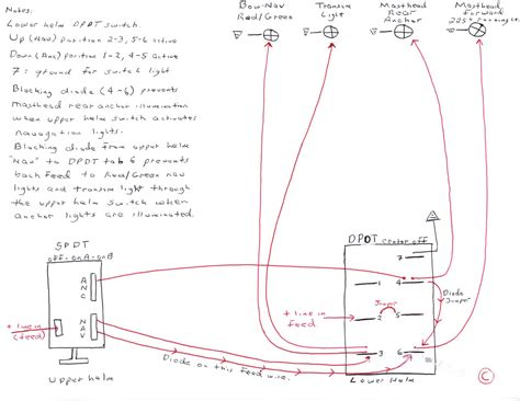 Wiring Boat Navigation Light Diagram by Navigation Light Switch Wiring Diagram Review Tech