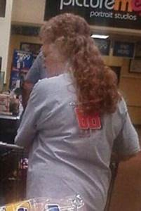 Network Architecture Grandma Sports A Mullet Perm Classy People Of Walmart