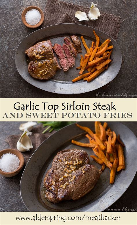 rida la cuisine sirloin steak with fries grill the hungry goddess
