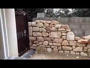 Construire Un Mur En Pierre : comment construire un mur en pierre apparente la r ponse ~ Melissatoandfro.com Idées de Décoration