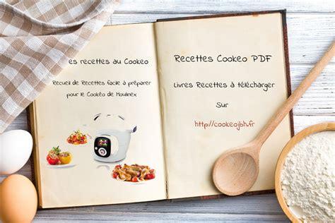 recette de cuisine lapin livres recettes cookeo à imprimer pdf recettes cookéo