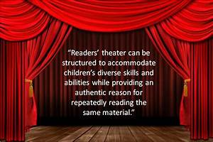 Shared Reading Theater - Reader's Theater in the ...