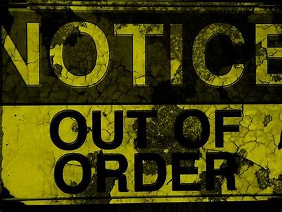Order Sign Background Morden Depot Fall Matrix