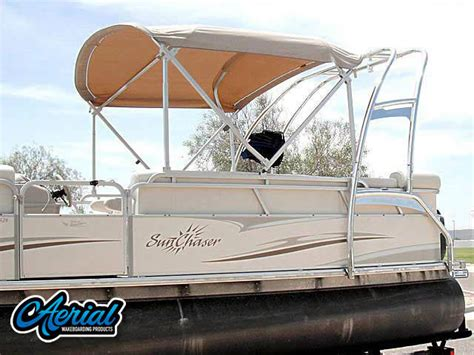Pontoon With Wakeboard Tower For Sale by Pontoon Tower Images