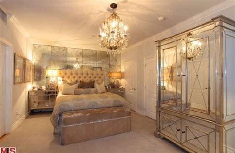 Ultra Glam Interiors Kim Kardashian's Bedroom & More