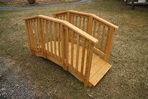 Small Wooden Footbridge Plans DIY Free Download Furniture