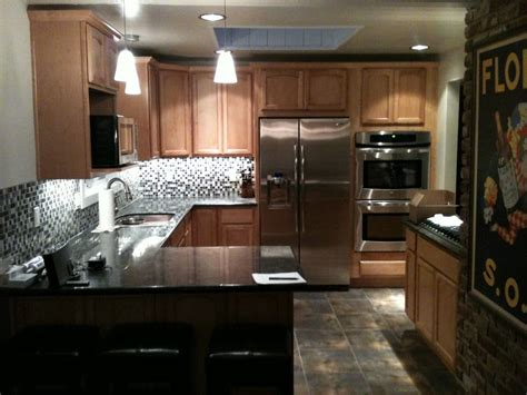 walnut creek kitchen remodel recessed lights w halogen