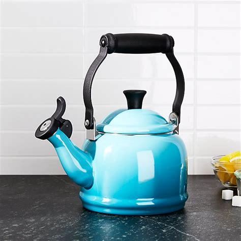 le creuset  qt demi caribbean tea kettle reviews