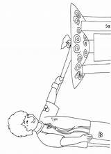 Torch Coloring Battery Olympic Colouring Operated Printable sketch template