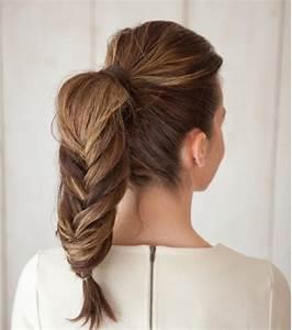 Coiffure Queue De Cheval : photo coiffure mariage queue de cheval tress e ~ Melissatoandfro.com Idées de Décoration