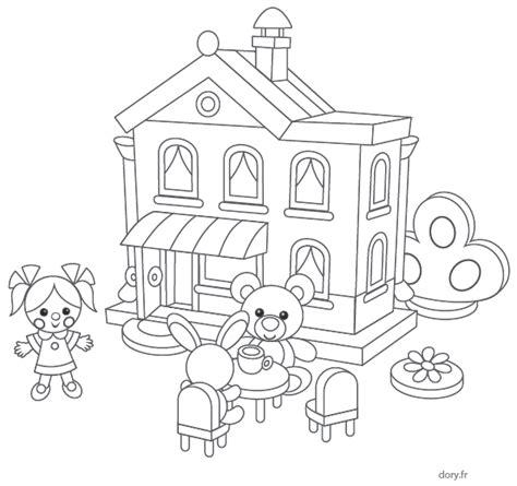 ustensiles de cuisine en p coloriage gratuit une maison de poupées dory fr coloriages