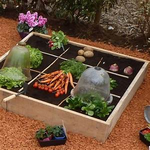 Jardin En Carré : tour d 39 horizon des structures de potager en carr s du commerce ~ Premium-room.com Idées de Décoration