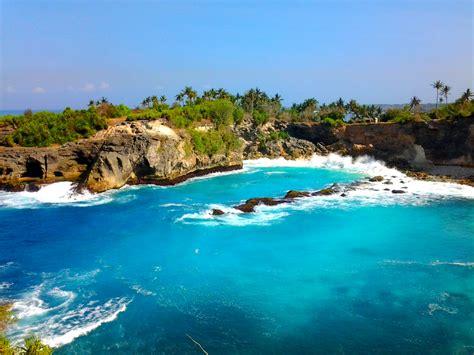 nusa lembongan keindahan pulau kecil  bali bali