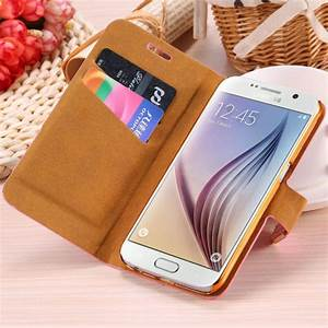 Gold Color New Hot Luxury Pu Leather Wallet Phone Case ...