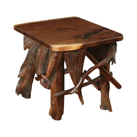 30323 log dining table best rustic log end table king dinettes
