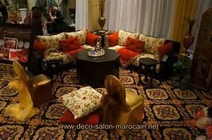 Banquette Salon Marocain : salon marocain a vendre occasion table de lit ~ Teatrodelosmanantiales.com Idées de Décoration