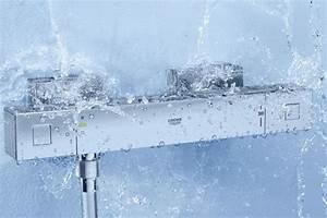 Foto Miscelatori termostatici per lavandini e docce