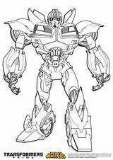 Coloring Bumblebee Pages Transformers sketch template