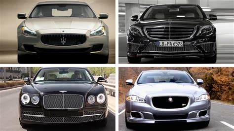 The Top Five Most Expensive Luxury Sedans In The World