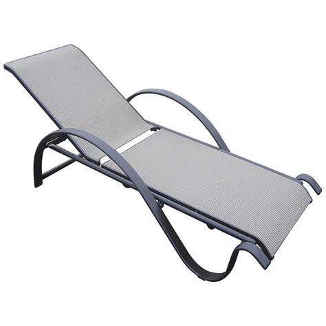 chaise longue leclerc bain de soleil sunset 285500 achat vente chaise longue