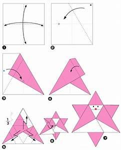 Origami Facile Noel : origami van de kerstman ster ~ Melissatoandfro.com Idées de Décoration