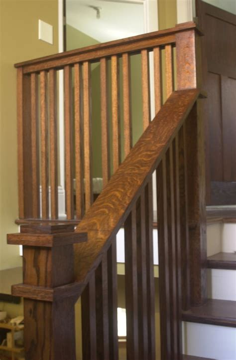 craftsman stair rail  code craftsman staircase house styles craftsman style homes