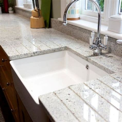Kitchen Island Sink Position by Canvas Of White Granite For Countertop And