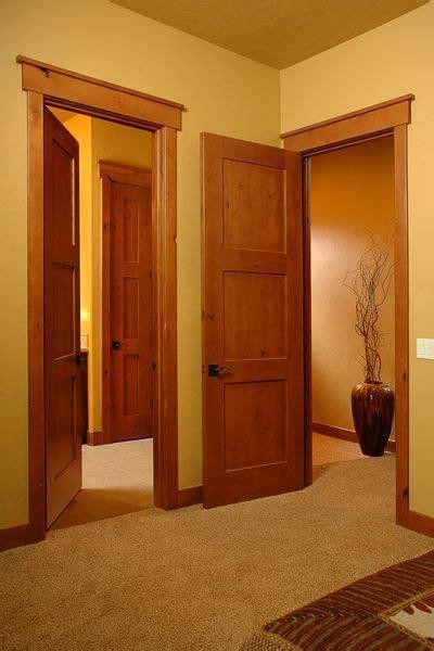 knotty alder  panel missionshaker style interior doors