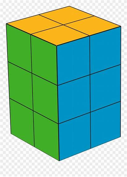Cubes Clipart Prism Rectangular Cube Building Snap