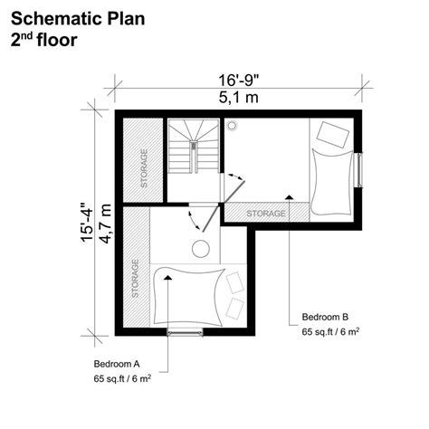 bedroom small house plans