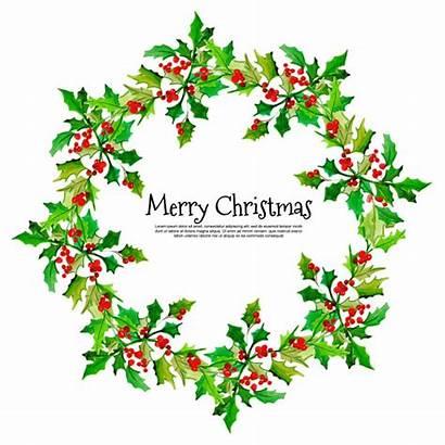 Floral Frame Watercolor Rahmen Premium Kerstmis Prachtige