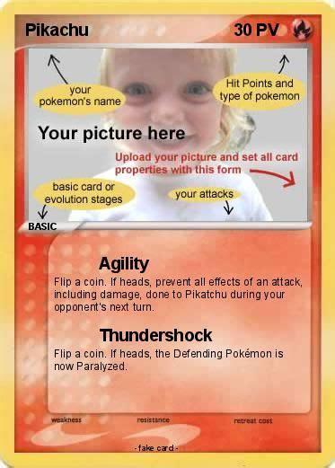 personalized pokemon card   man