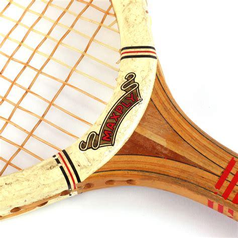 vintage tennisracket dunlop maxply vindingrijk kringloopwarenhuis breda