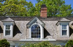 Dormers Community Centre by House With Three Dormer Windows Stock Photo Image Of